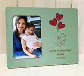 Teddy Bear Balloons Photo Frame 10×8 in mint